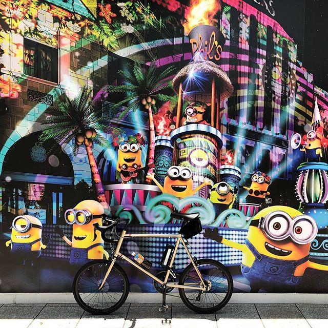universal studio japan ♪(´ε` )HerionROsaka City / Japan#japan #instagood #instacycle #roadie #roadcycle #roadbike  #love #bicycle #cycling #bike #roadbike #fujicycle