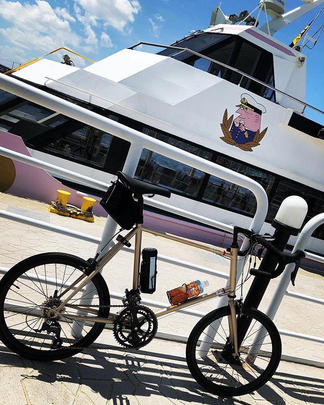 Hyperdrive ♪(´ε` )HerionROsaka City / Japan#japan #instagood #instacycle #roadie #roadcycle #roadbike  #love #bicycle #cycling #bike #roadbike #fujicycle