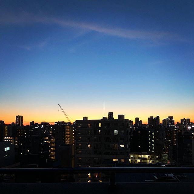 綺麗な我が家の夕焼け♪(´ε` )